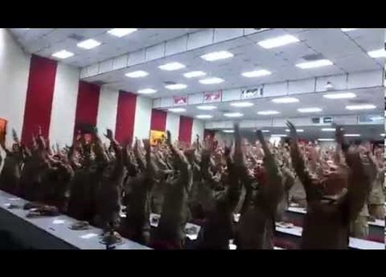 "America's Soldiers Singing ""Days of Elijah"" - OORAH!"