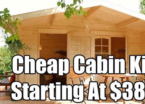 Cheap Cabin Kits Starting At $3860 - SHTF & Prepping Central