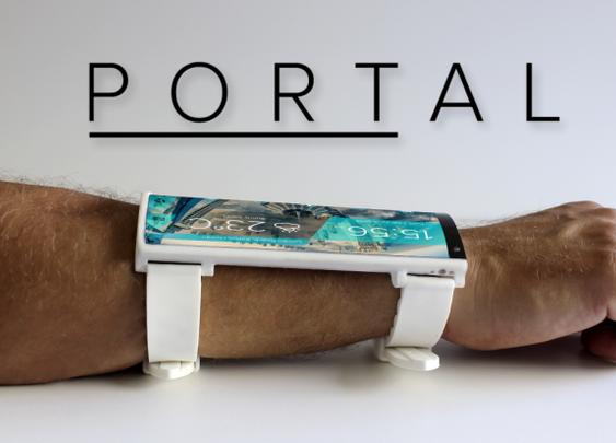 Portal Wearable Smartphone  DisruptOverload | Indiegogo