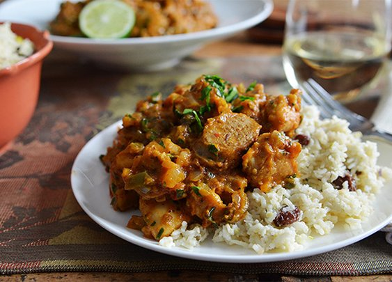 PALEO HACK: Creole Chicken with Coconut Cauliflower Rice | Andrew ZimmernAndrew Zimmern