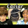 Kids React to Trying Caviar For the First Time