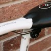 Reprieve Bicycle Saddle goes for comfort with a dip and a bladder