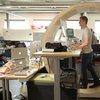 DIY: How to Build a Hamster Wheel Standing Desk