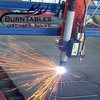 Chris using the BurnTables Plasma Table and the Hypertherm Powermax 125.