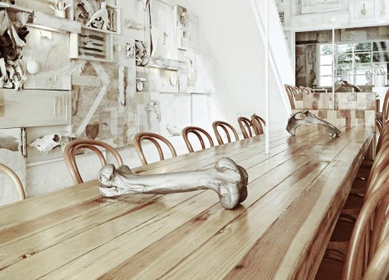 This Macabre Restaurant Is Decorated With 10,000 Bones  | Co.Design | business + design