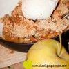Fall Oatmeal Apple Crisp  | Chasing Supermom