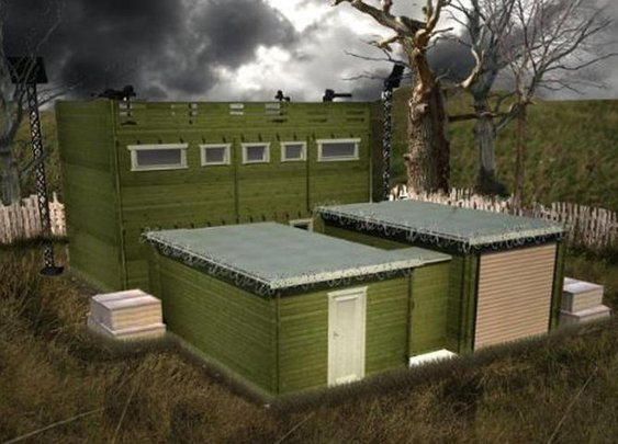 Zombie-proof log cabin has 10-year anti-zombie guarantee - CNET