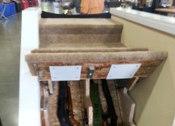 Hidden Gun Storage Under Stairs   StashVault