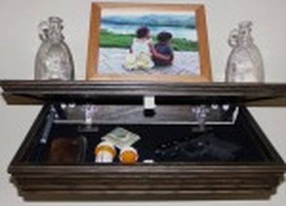 Drop Down Hidden Shelf Compartment   StashVault