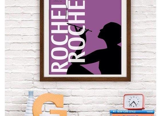 """Seinfeld ('Rochelle Rochelle') 11"""" x 17"""" wall art"""