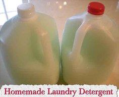 Homemade Laundry Detergent - 576 loads For $6 - LivingGreenAndFrugally.com