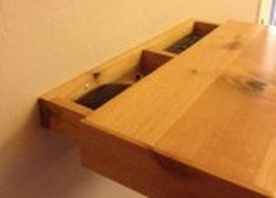 Secret Compartment in Wall Shelf   StashVault
