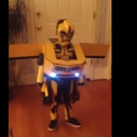 """This Kid's Unreal """"Transformers"""" Costume Actually Transforms"""
