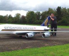 Gigantic A-380 Airbus RC Plane