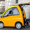Single-Person Electric Car Designed Specifically For People In Wheelchairs