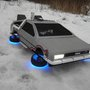 Quadcopter Are Boring, but DeLorean Quadcopters? Now We're Talking.