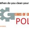 Poll: When do you clean your guns? - Gears of Guns | Gears of Guns | Gears of Guns