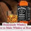 Homemade Whiskey - How to Make Whiskey at Home - LivingGreenAndFrugally.com