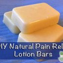 Homemade Pain Relief Lotion Bars - LivingGreenAndFrugally.com