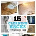 15 Cleaning Hacks Everyone Should Know - LivingGreenAndFrugally.com