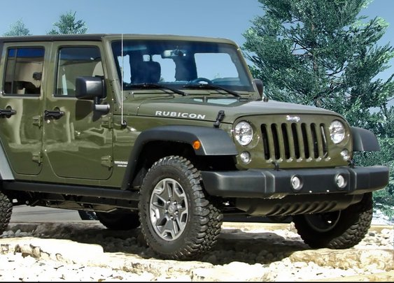 Take a video tour of the 2015 Jeep Wrangler Rubicon!