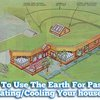How To Use The Earth For Passive Heating/Cooling Your house - LivingGreenAndFrugally.com