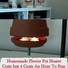 Homemade Flower Pot Heater - Costs Just 4 Cents An Hour To Run - LivingGreenAndFrugally.com