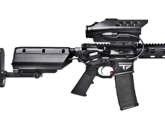 First Look: TrackingPoint Precision Guided 5.56 Rifle