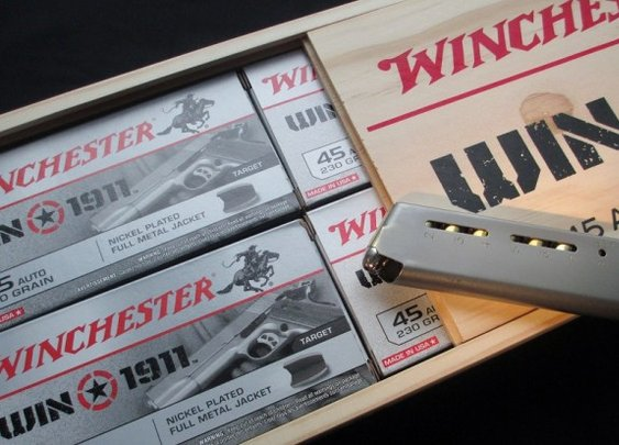 Winchester back at it with the 1911 .45acp - Gears of Guns