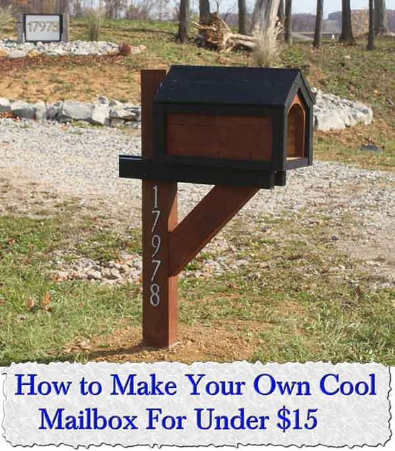 How to Make Your Own Cool Mailbox