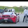 Swiss Cyclist François Gissy Reaches 207 MPH on a Rocket-Powered Bicycle