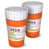 RX Prescription Pill Bottle Pint Glass Set of 2 by Big Mouth Toys