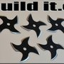 Hot to Make Ninja Throwing Stars Out of a Saw Blade