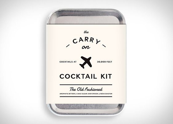 Carry On Cocktail Kit | Uncrate