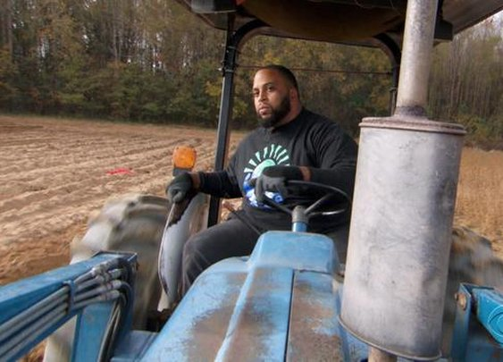 Why a star football player traded NFL career for a tractor