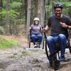 The GRIT Freedom Chair takes the wheelchair mountain biking