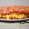 Bacon Weave Mac and Cheese Quesadilla