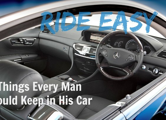 Ride Easy: 17 Things Every Man Should Keep in His Car