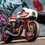 Ivory Comet XL Sportster | Return of the Cafe Racers