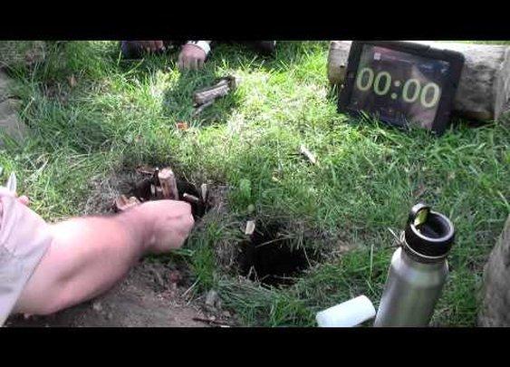 How to make a datoka fire hole