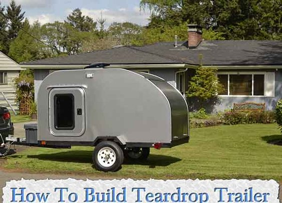 How To Build Teardrop Trailer For Under $2000 - LivingGreenAndFrugally.com