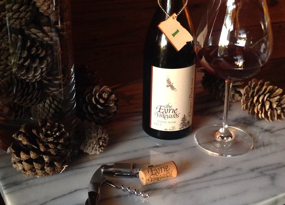 Oregon Advent: Day 1: Eyrie Vineyards Willamette Valley Pinot Noir 2012
