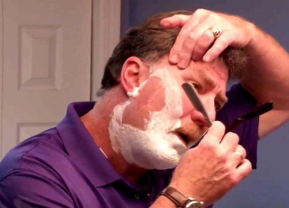 Best Straight Razor Shaving Tutorial for Beginners Straight Razor Designs.com - YouTube