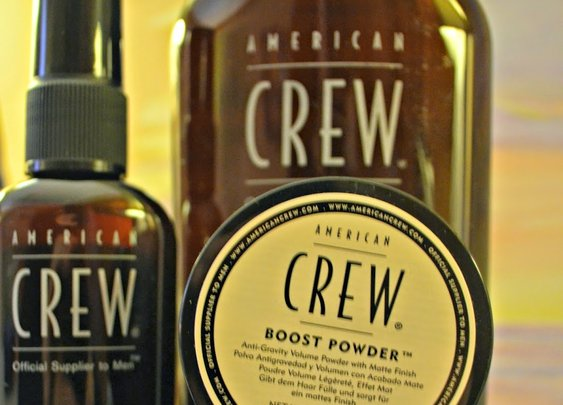 Grooming with American Crew