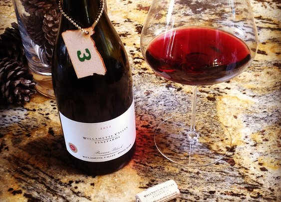Oregon Advent: Day 3  Willamette Valley Vineyards Bernau Block Pinot Noir 2012.