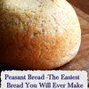 Peasant Bread -The Easiest Bread You Will Ever Make - LivingGreenAndFrugally.com