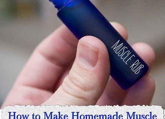 How to Make Homemade Muscle Rub to Relieve Headaches - LivingGreenAndFrugally.com