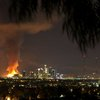 Crews douse 2 large fires in Los Angeles - Houston Chronicle