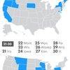 The fattiest states