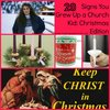20 Signs You Grew Up a Church Kid – Christmas Edition | Chasing Supermom